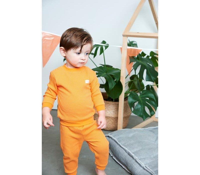 Feetje  -  Pyjama wafel Oranje