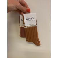 Ewers - Socks Rib toffee