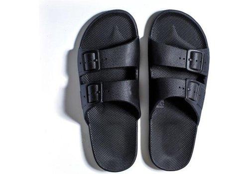 Freedom Moses Freedom moses - PU-slippers basic black