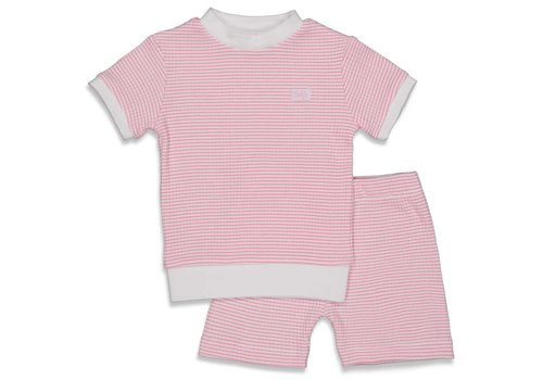 Feetje Feetje -  Shortama wafel Pink