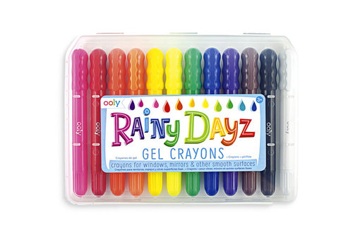 "Ooly Ooly - Raamkrijtjes ""Rainy Dayz"""
