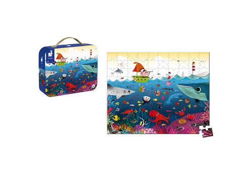janod Janod - Kartonnen puzzel onderwaterwereld