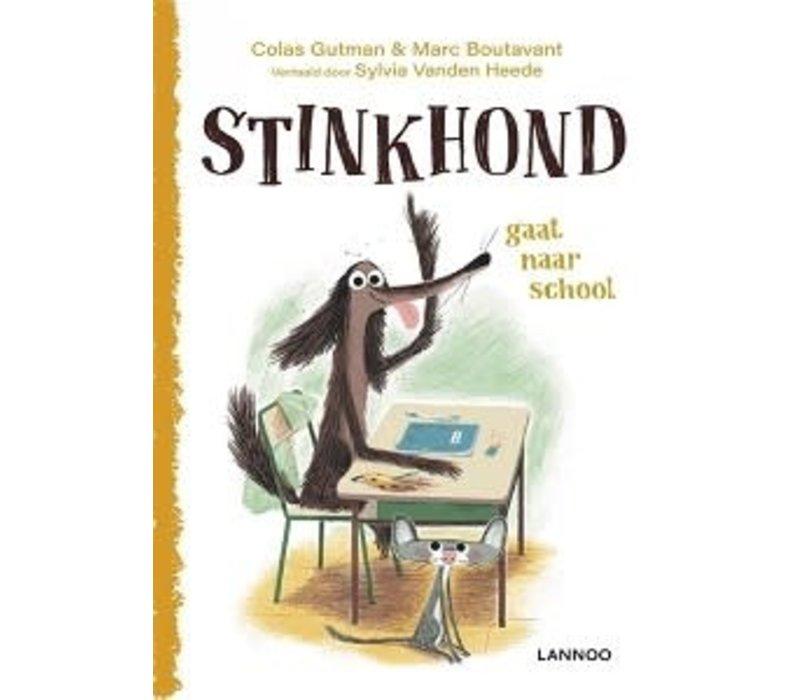 Prentenboek - Stinkhond gaat naar school