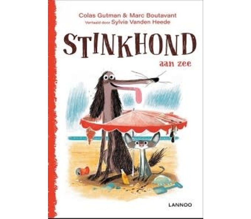 Prentenboek - Stinkhond aan zee