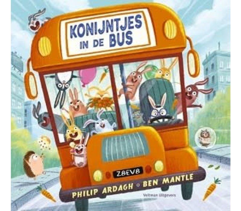Prentenboek - Konijntjes in de bus