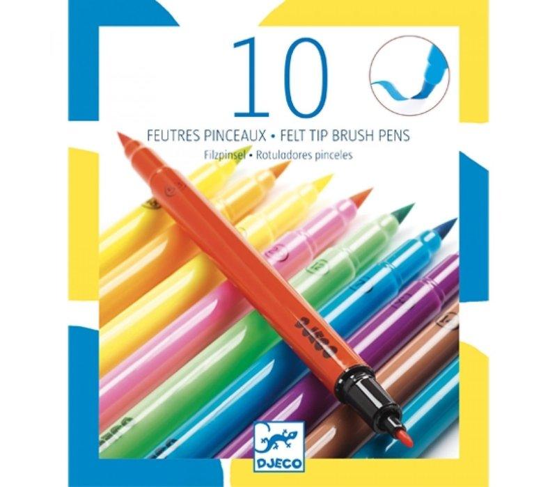 Djeco - Stiften dubbel Neon kleur