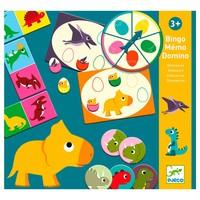 Djeco - 3-1 dinosaurus spel