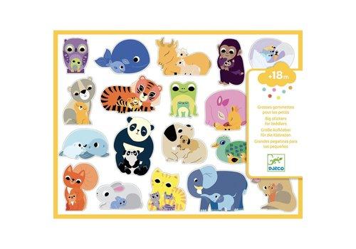 Djeco Djeco - Stickers moeder en kind