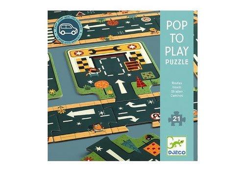 Djeco Djeco - Pop to play Routes
