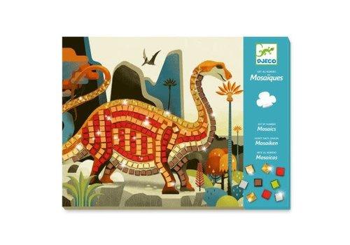 Djeco Djeco Mozaïek Dinosaurus