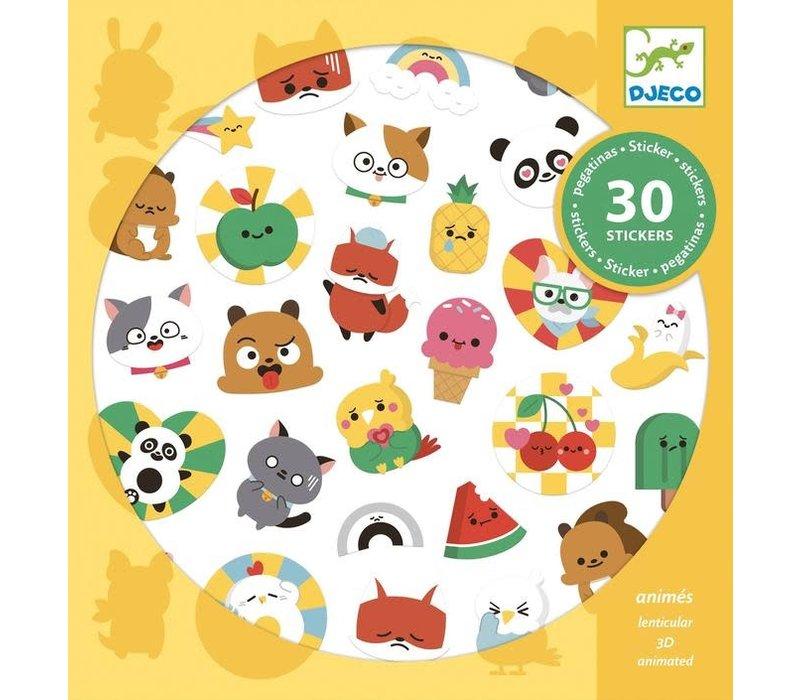 Djeco - Stickers Emoij