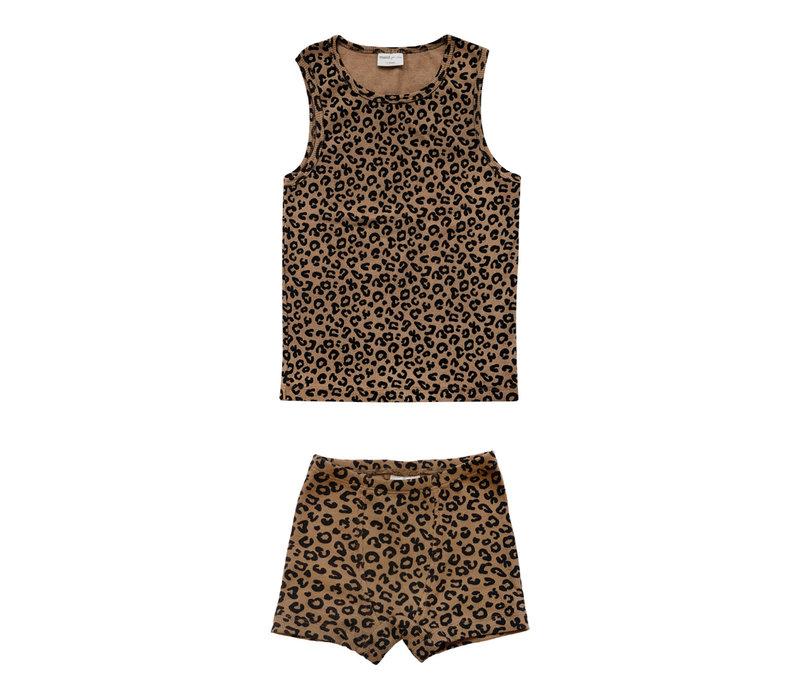 Maed For Mini essentials - Underwear Boys Chocolate Leopard