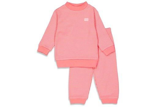 Feetje Feetje -  Pyjama wafel Summer Pink