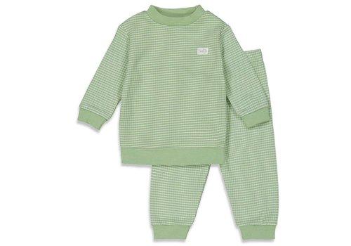 Feetje Feetje -  Pyjama wafel Summer Groen