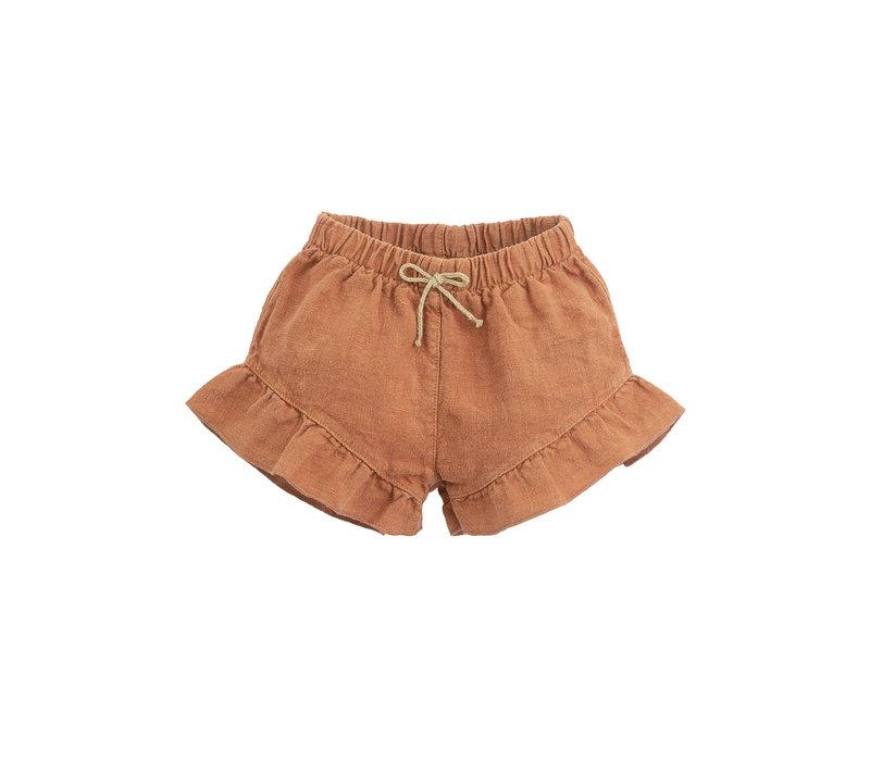 Play up - Linen shorts P4116 2AI11702