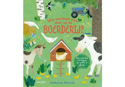 Boeken Boek - Wie verstopt zich daar op de boerderij?