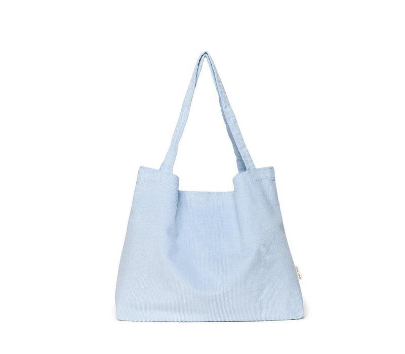 Studio Noos - Babyblue  Rib Mom  Bag