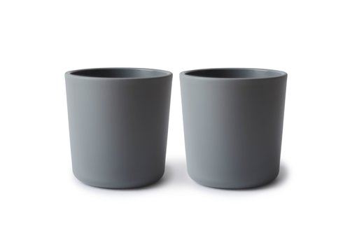 Mushie Mushie - Cups 2pcs - Smoke