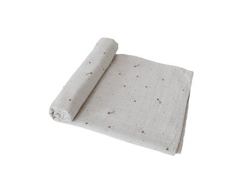 Mushie Mushie - Swaddle 120x120 Falling stars