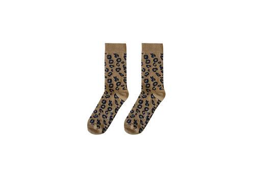Maed For mini Maed for Mini Essentials - Mama socks Brown leopard aop