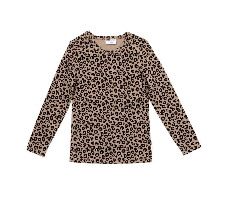 Maed for Mini Essentials - Longsleeve Brown Leopard