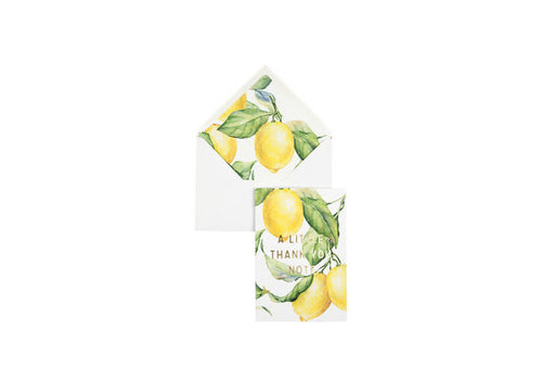 Creative Lab Creative Lab - Yellow Lemon Tree - A little thank you note