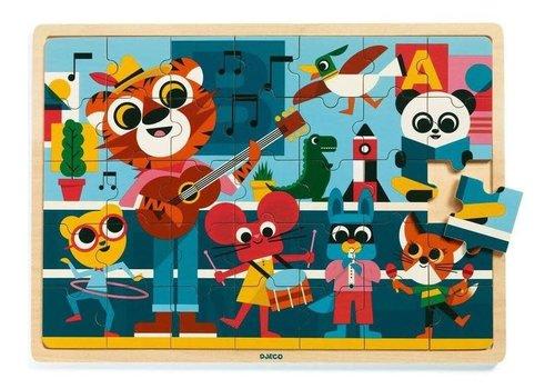 Djeco Djeco - Houten puzzel muziek