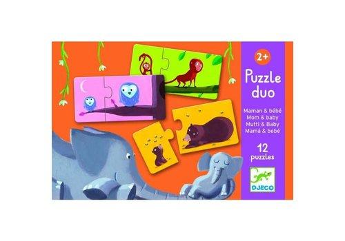 Djeco Djeco - Mom and Baby puzzel