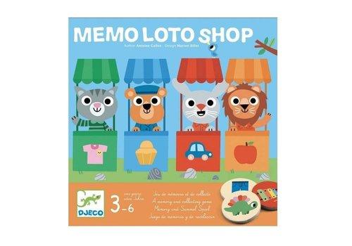 Djeco Djeco - Memo loto Shop