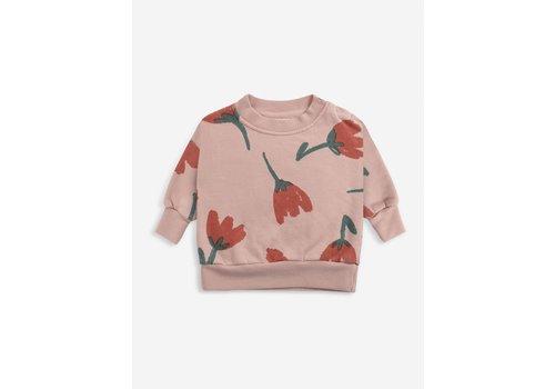 Bobo Choses Bobo choses - Big flowers allover sweatshirt