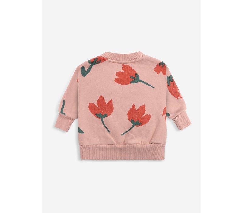 Bobo choses - Big flowers allover sweatshirt