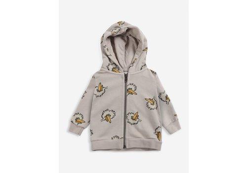 Bobo Choses Bobo choses - Birdie allover zipped hoodie