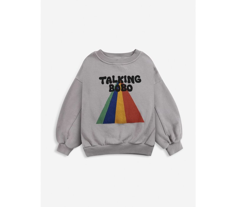 Bobo choses - Talking bobo rainbow sweatshirt