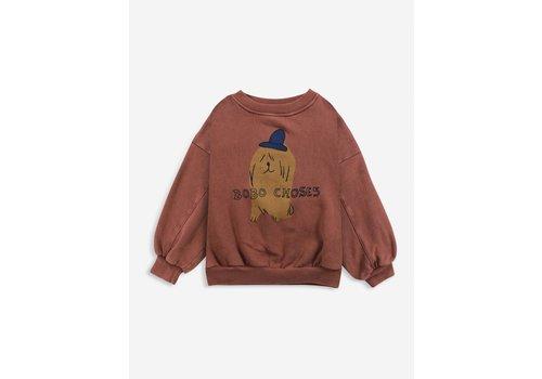 Bobo Choses Bobo choses - Dog in the hat sweatshirt
