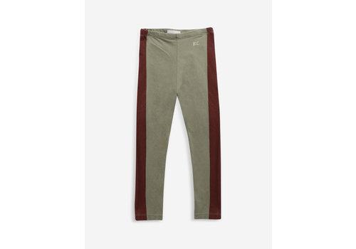 Bobo Choses Bobo choses -Maroon stripes leggings