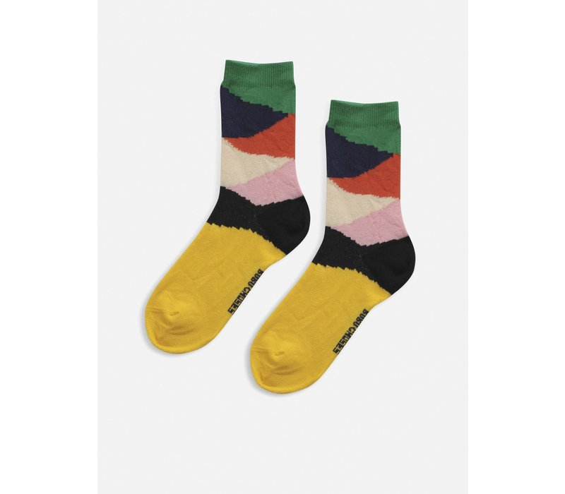 Bobo choses - Multi color block short socks