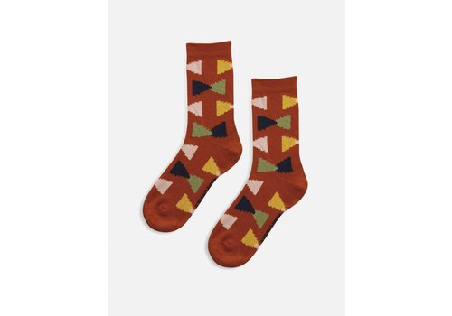 Bobo Choses Bobo choses - Geometric short socks
