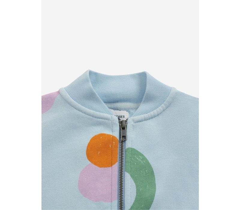 Bobo choses - Fruits all over zipped sweatshirt - 6/7 year