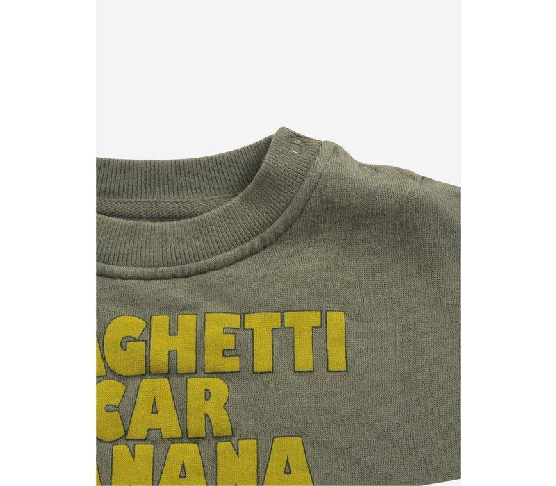 Bobo choses - Spaghetti car banana sweatshirt