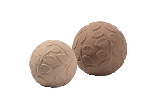 Natruba Natruba - Sensory Ball set Leaf earth
