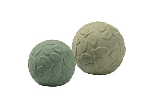 Natruba Natruba - Sensory Ball set Leaf green