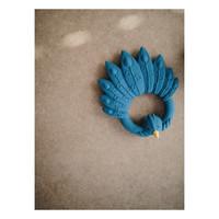 Natruba - Teether Peacock blue