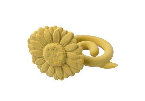 Natruba Natruba - Teether rattle Sunflower yellow