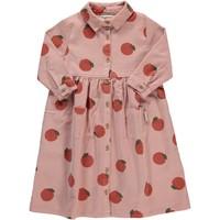 Piupiuchick - Long shirt dress light pink w/ allover
