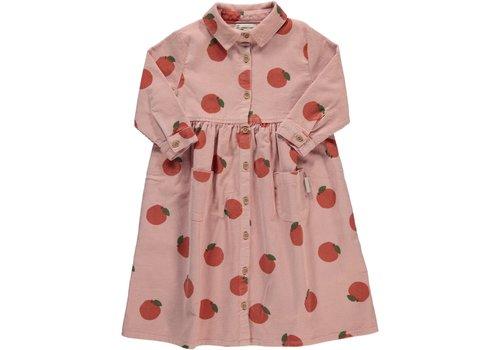 Piupiuchick Piupiuchick - Long shirt dress light pink w/ allover