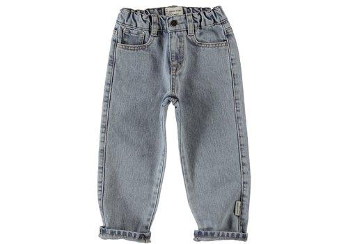 Piupiuchick Piupiuchick - Unisex denim trousers washed light blue denim