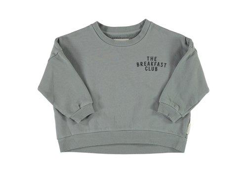 Piupiuchick Piupiuchick - Unisex sweatshirt grey w/ print