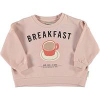 Piupiuchick - Unisex sweatshirt light pink w/ print