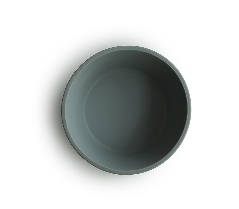 Mushie - Silicone Bowl Dried Thyme met zuignap