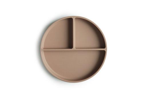 Mushie Mushie - Silicone Plate Natural